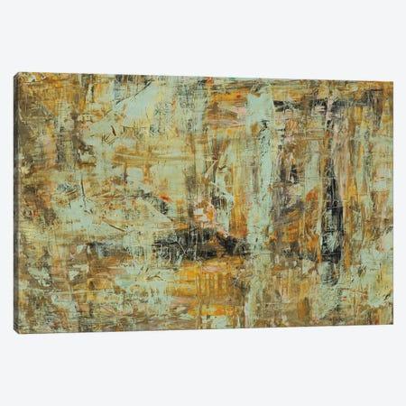 Riding The Dust II Canvas Print #HGU5} by Hilario Gutierrez Canvas Wall Art