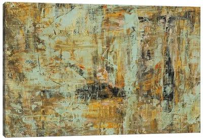 Riding The Dust II Canvas Art Print