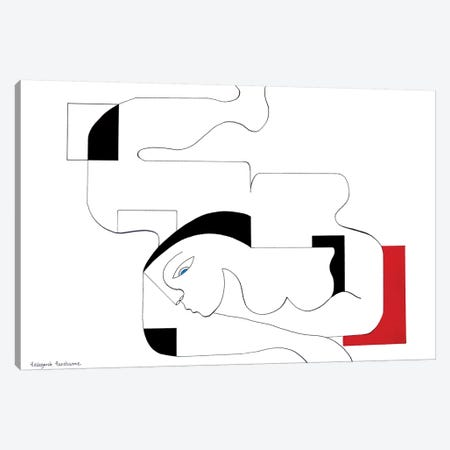Sensualité Canvas Print #HHA101} by Hildegarde Handsaeme Canvas Art Print