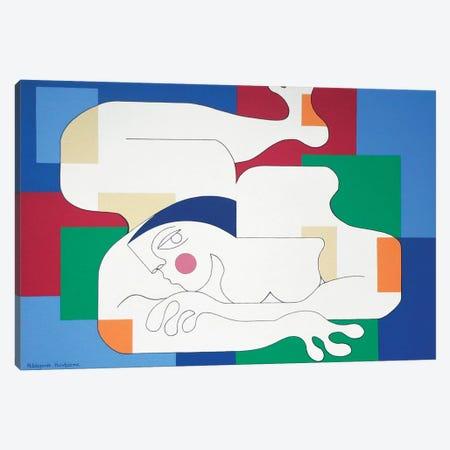 Sensualité II Canvas Print #HHA102} by Hildegarde Handsaeme Art Print