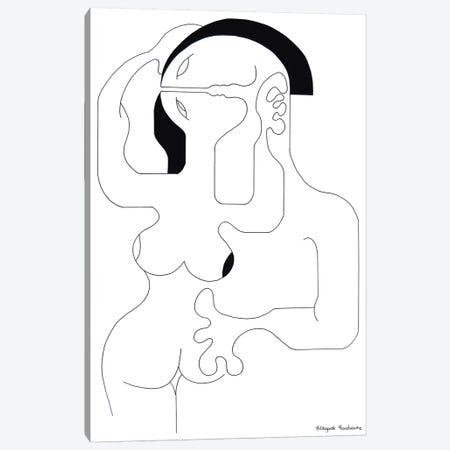 Tendrement Canvas Print #HHA110} by Hildegarde Handsaeme Canvas Wall Art