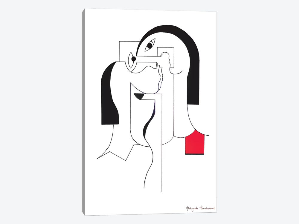 The Black Nail by Hildegarde Handsaeme 1-piece Canvas Art