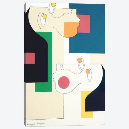 Twins II Canvas Print #HHA131} by Hildegarde Handsaeme Canvas Art