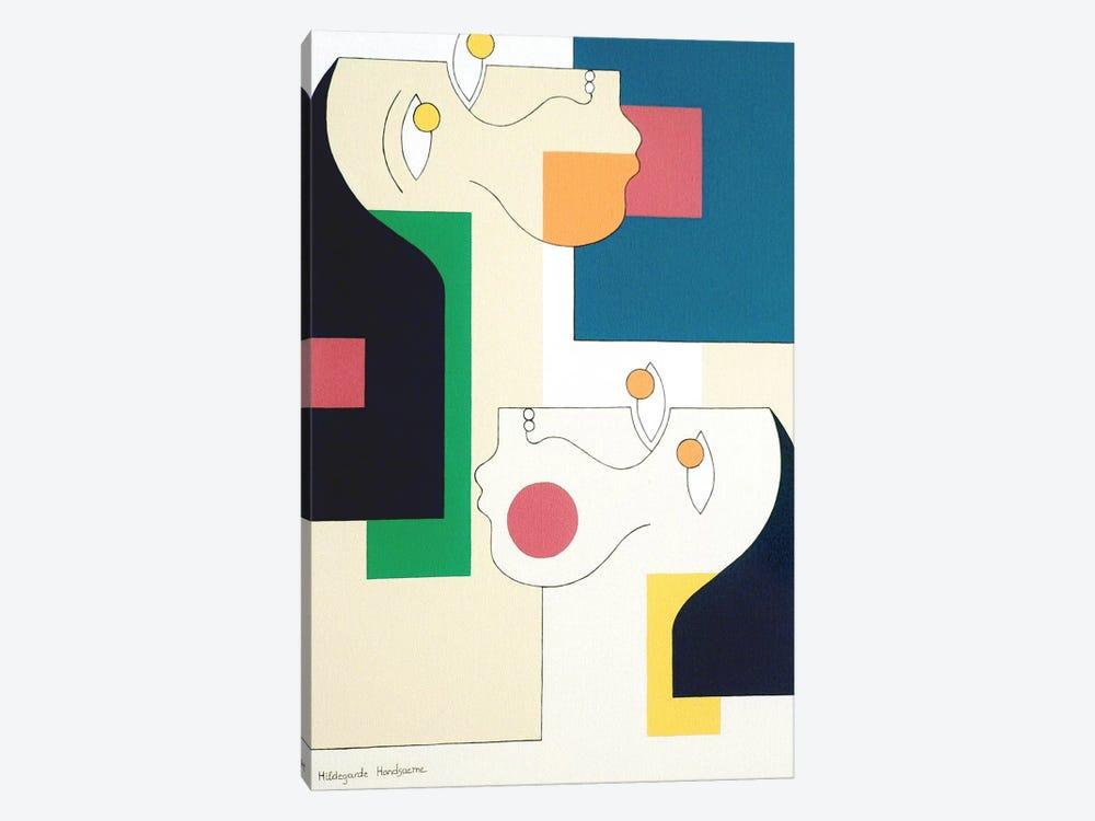 Twins II by Hildegarde Handsaeme 1-piece Canvas Wall Art