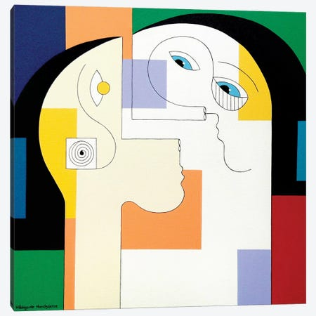 Unité 2010 Canvas Print #HHA134} by Hildegarde Handsaeme Canvas Art Print