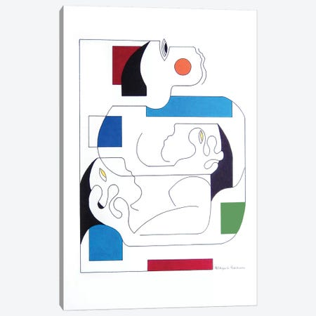 Sherlock Holmes: The Kensington Conundrum Canvas Print #HHA150} by Hildegarde Handsaeme Canvas Art