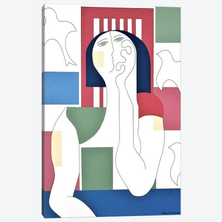 Escape II Canvas Print #HHA152} by Hildegarde Handsaeme Canvas Artwork