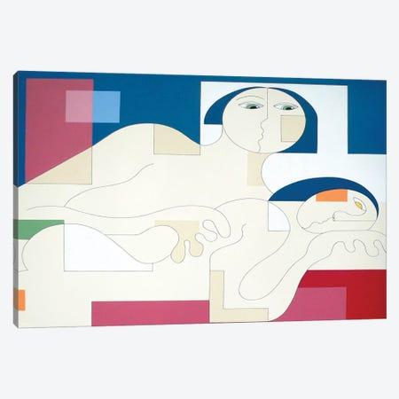 Virtual Desire Canvas Print #HHA160} by Hildegarde Handsaeme Canvas Art Print