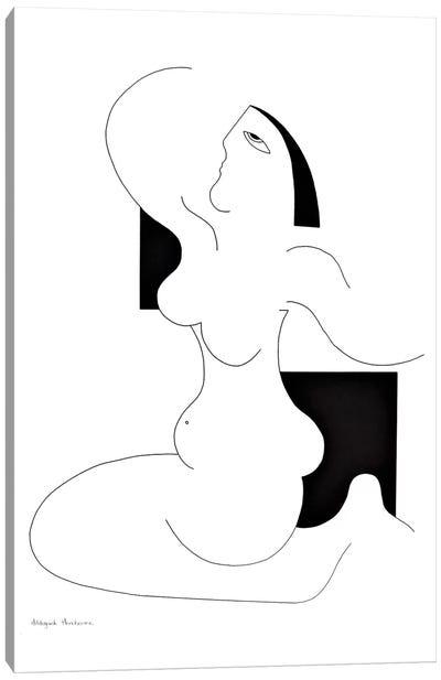 Elle Est Elle XL Canvas Art Print