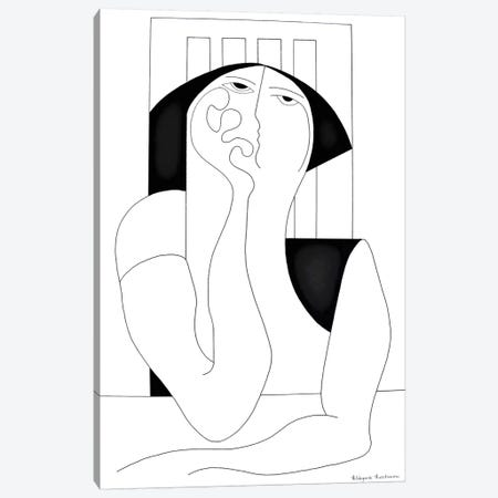 Philosophia XL Canvas Print #HHA170} by Hildegarde Handsaeme Canvas Wall Art