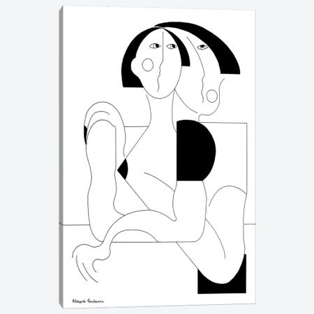 Love & Protection Canvas Print #HHA179} by Hildegarde Handsaeme Canvas Wall Art