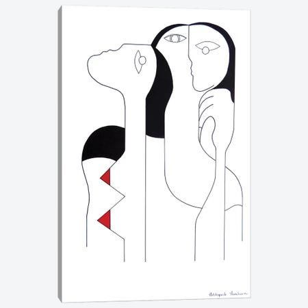 Connectivité Canvas Print #HHA17} by Hildegarde Handsaeme Canvas Art