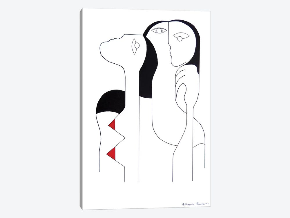 Connectivité by Hildegarde Handsaeme 1-piece Canvas Wall Art