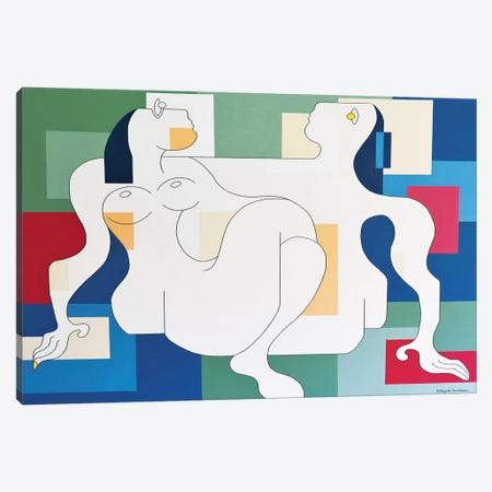 Fidelis Xl Canvas Print #HHA187} by Hildegarde Handsaeme Canvas Wall Art