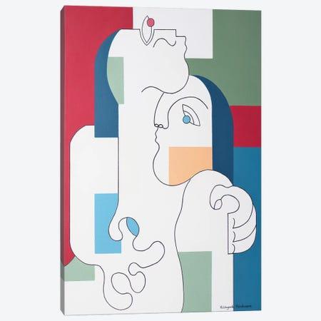 Tutum Canvas Print #HHA194} by Hildegarde Handsaeme Canvas Print