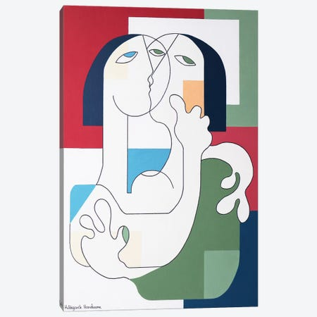 Lekiss XXL Canvas Print #HHA196} by Hildegarde Handsaeme Canvas Print
