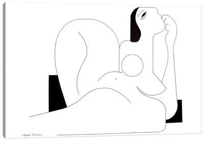 A Feminine Concept In 2119 Canvas Art Print