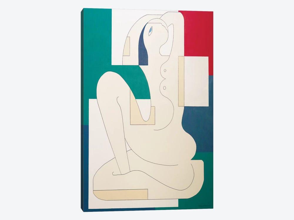 La Signora by Hildegarde Handsaeme 1-piece Canvas Artwork