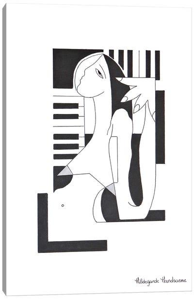 Recherche Musicale Canvas Art Print