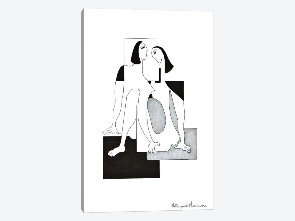 L'allignement harmonieux by Hildegarde Handsaeme 1-piece Canvas Art Print