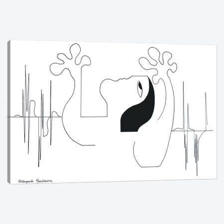 Dance With Me Canvas Print #HHA20} by Hildegarde Handsaeme Canvas Art