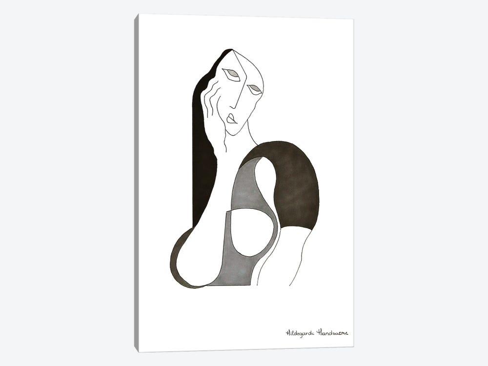 La Rêveuse by Hildegarde Handsaeme 1-piece Canvas Print