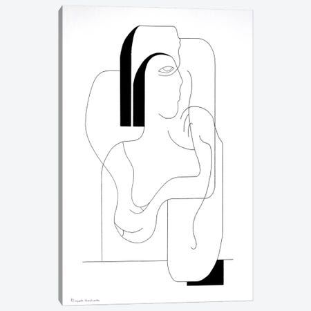 Solidarity Canvas Print #HHA213} by Hildegarde Handsaeme Canvas Print