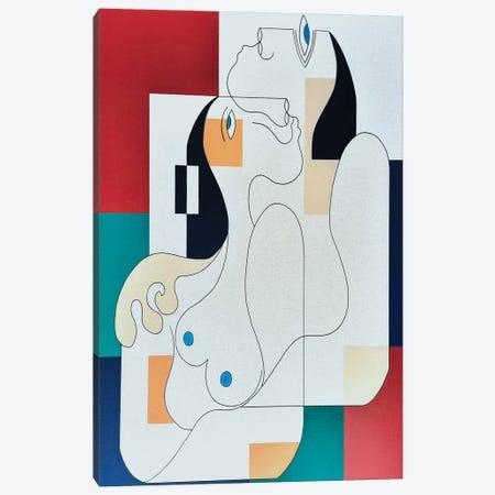 Lasérénité Canvas Print #HHA239} by Hildegarde Handsaeme Canvas Print