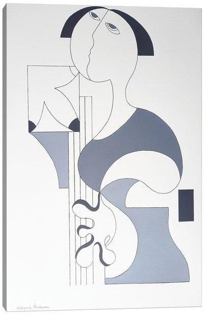 The Music Woman Canvas Art Print