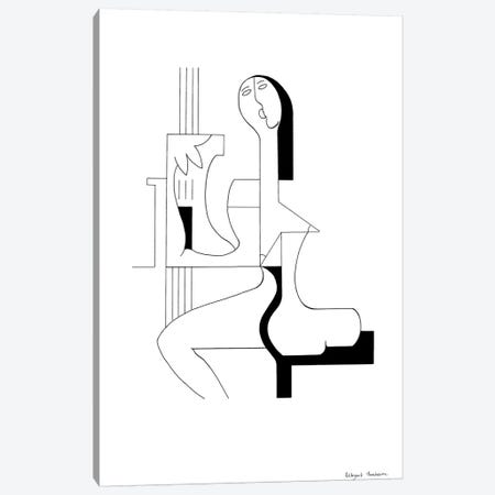 De Sopraan Canvas Print #HHA24} by Hildegarde Handsaeme Canvas Print