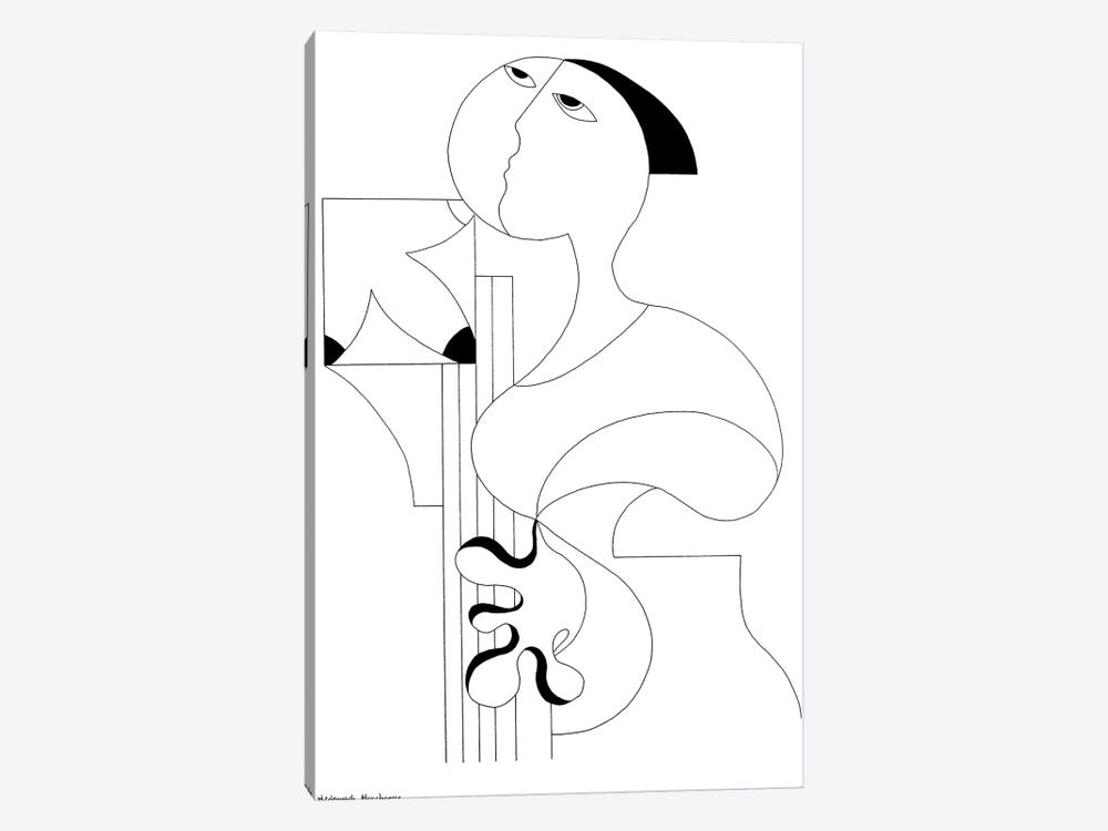 Drawing Solo by Hildegarde Handsaeme 1-piece Canvas Art