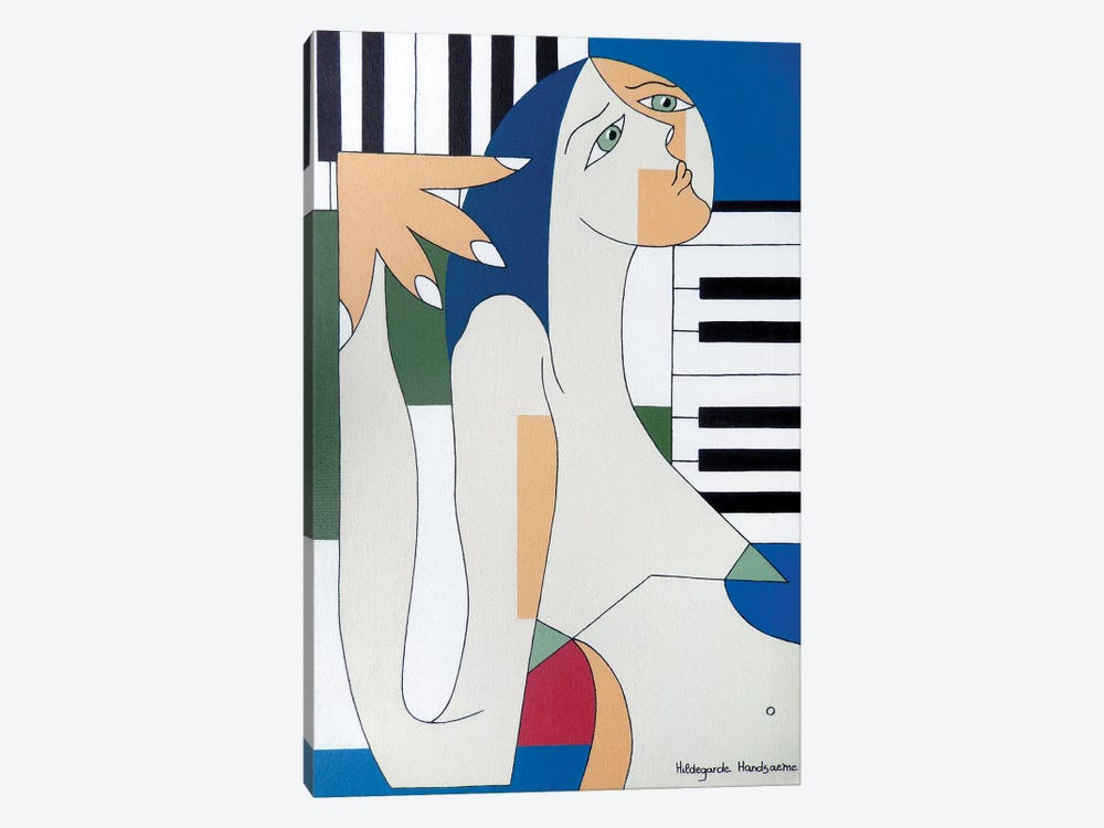 Absolu Musical by Hildegarde Handsaeme 1-piece Canvas Artwork