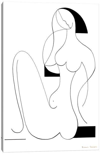 Femme Fatale Canvas Art Print