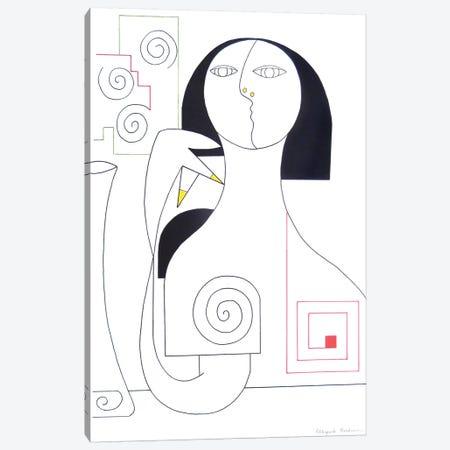 Gracieuseté Canvas Print #HHA40} by Hildegarde Handsaeme Canvas Wall Art