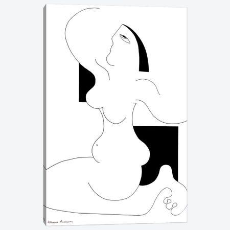 La Liberté Canvas Print #HHA50} by Hildegarde Handsaeme Art Print