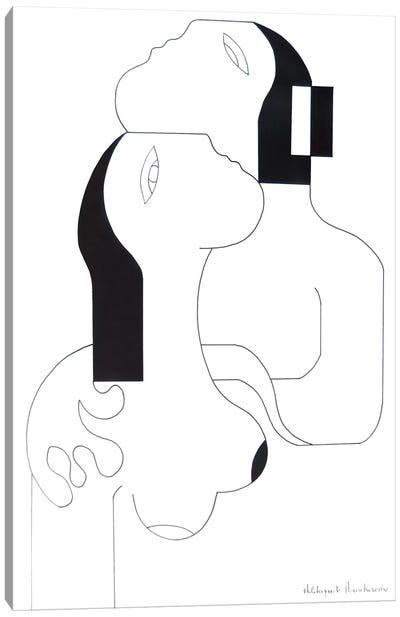 L'Etreinte D'Amour II Canvas Art Print