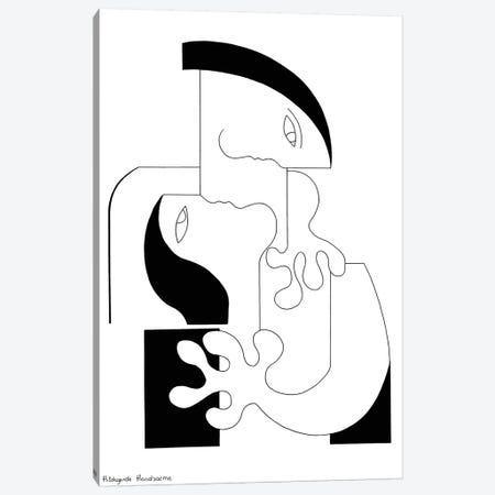L'Intensité Xl Canvas Print #HHA68} by Hildegarde Handsaeme Canvas Art