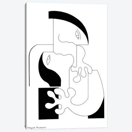 L'Intensité Xl Canvas Print #HHA68} by Hildegarde Handsaeme Canvas Art