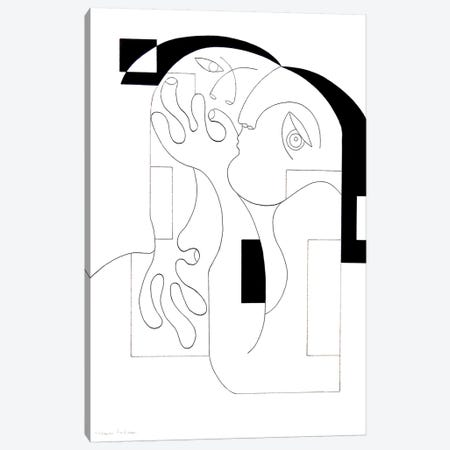 Anonymus Canvas Print #HHA6} by Hildegarde Handsaeme Canvas Art