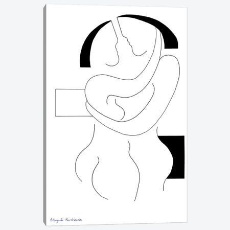Love I Canvas Print #HHA71} by Hildegarde Handsaeme Canvas Art Print