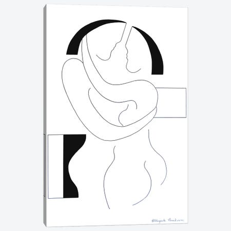 Love II Canvas Print #HHA72} by Hildegarde Handsaeme Canvas Art Print