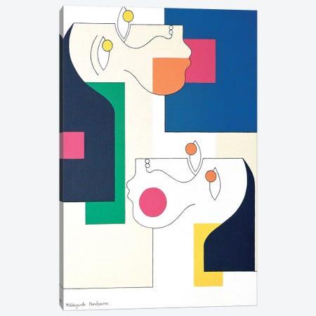 November Twins Voor Gebruik  Canvas Print #HHA83} by Hildegarde Handsaeme Canvas Wall Art