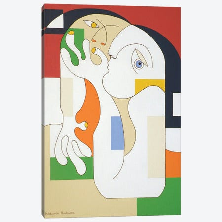 Anonymus X Canvas Print #HHA8} by Hildegarde Handsaeme Canvas Art Print