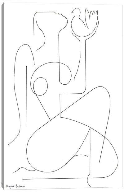Rodinne Canvas Art Print