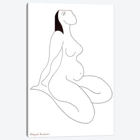 Au Repos Canvas Print #HHA9} by Hildegarde Handsaeme Canvas Print