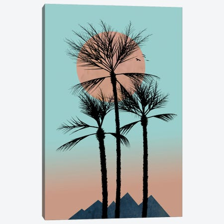 Much More Passion In The Tropics Canvas Print #HHL26} by Halli Hal Canvas Art