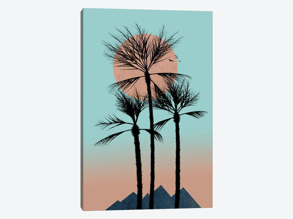 Much More Passion In The Tropics by Hal Halli 1-piece Art Print