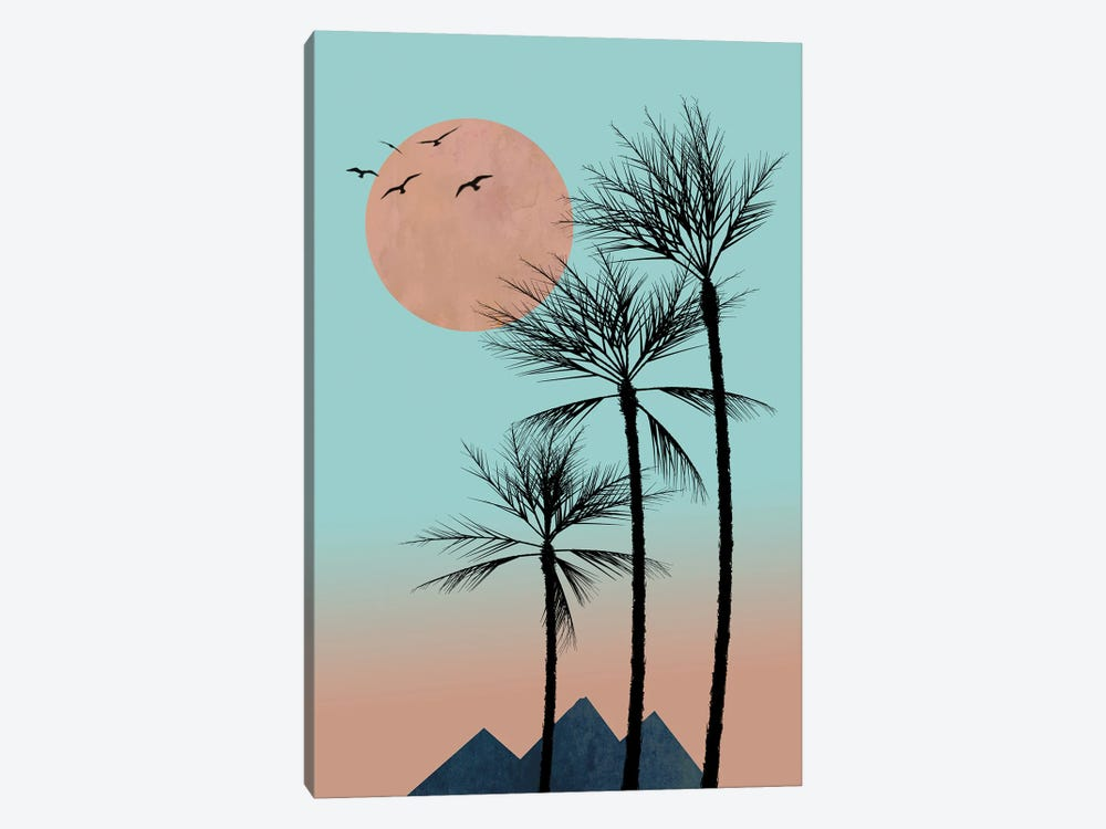 Passion In The Tropics by Hal Halli 1-piece Art Print
