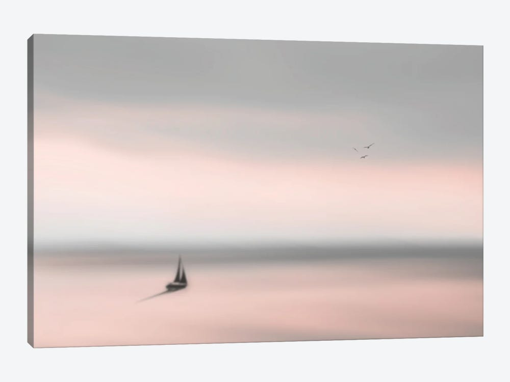 Peace On The Water I by Hal Halli 1-piece Canvas Artwork