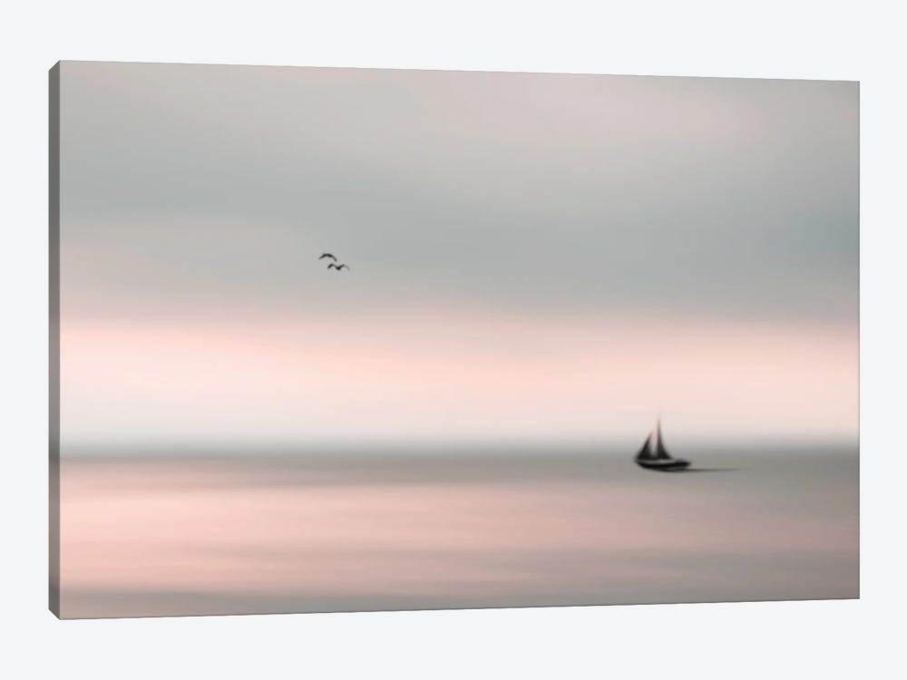 Peace On The Water II by Halli Hal 1-piece Canvas Art